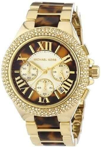 Relógio Feminino Michael Kors MK5901 Dourado Cravejado