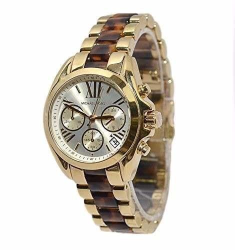 02b6f1f44f4 Relógio Feminino Michael Kors MK5973 Dourado - Mimports - Produtos e ...