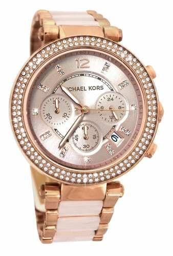Relógio Feminino Michael Kors MK5896 Rose Cravejado