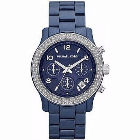 Relógio Feminino Michael Kors MK5655 Azul Cerâmica
