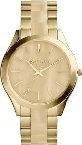 Relógio Feminino Michael Kors MK4285 Dourado Madrepérola