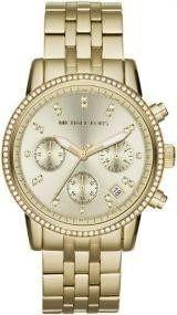 Relógio Feminino Michael Kors MK5698 Dourado Cravejado