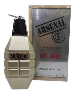 Perfume Masculino Gilles Cantuel Arsenal Gc 002 Eau de Toilette