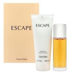 Kit Feminino Escape Calvin Klein Eau de Parfum 100ml + Body Lotion 200ml