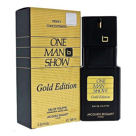 Perfume Masculino Jacques Bogart One Man Show Gold Edition Eau de Toilette