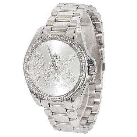 Relógio Feminino Michael Kors MK6554 Prata Cravejado