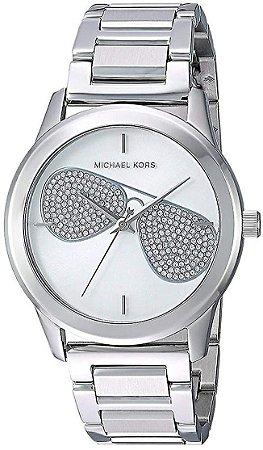 Relógio Feminino Michael Kors MK3672 Prata Cravejado