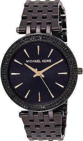 Relógio Feminino Michael Kors MK3337 Preto Cravejado