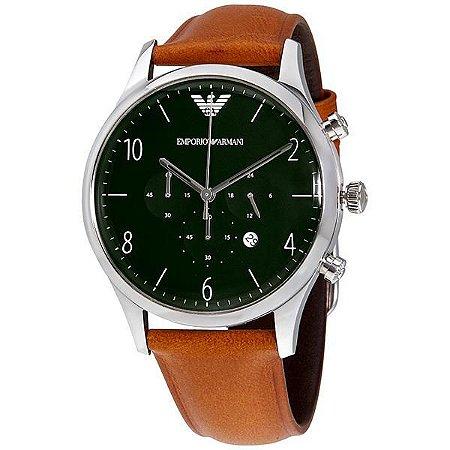 Relógio Masculino Emporio Armani AR1941 Couro