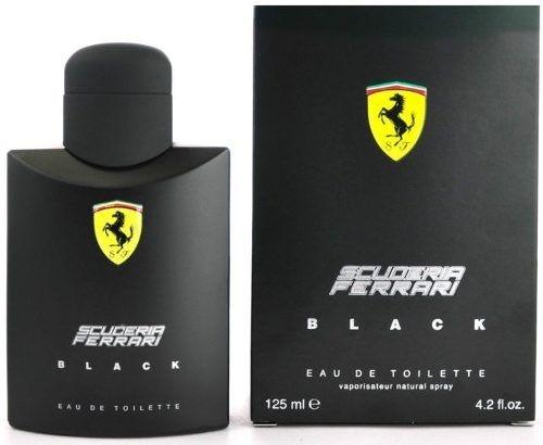 Perfume Masculino Scuderia Ferrari Black Eau de Toilette