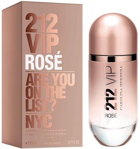 Perfume Feminino 212 Vip Rosé Eau de Parfum