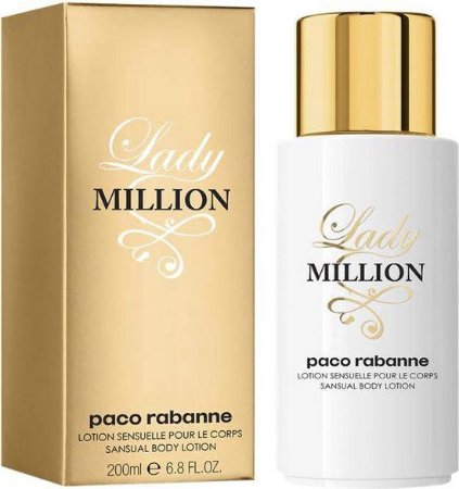 Loção Corporal Paco Rabanne Lady Million 200ml