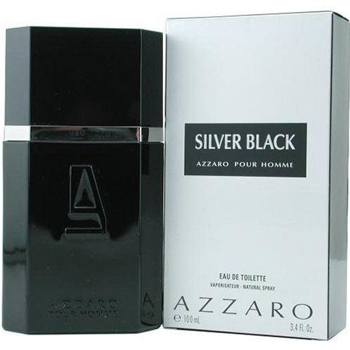 Perfume Masculino Azzaro Silver Black Eau de Toilette