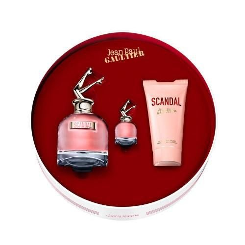 Kit Perfume Feminino Jean Paul Gaultier Scandal Edp 80ml + Hidratante Corporal 75ml + Mini 6ml