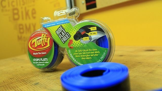 Fita anti furo Mr Tuffy - Embalagem com 2 unidades