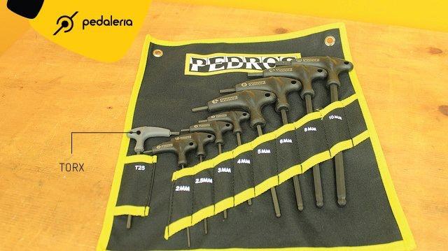 Conjunto de Chaves Allen Pro T/L + Torx - 9 peças - 6451551