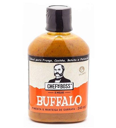 Molho de pimenta Buffalo: o primeiro do Brasil - 240ml