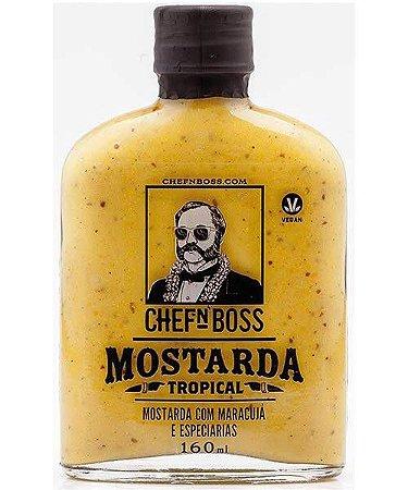 Mostarda Tropical com Maracujá (EMBALAGEM VIDRO 160ML)