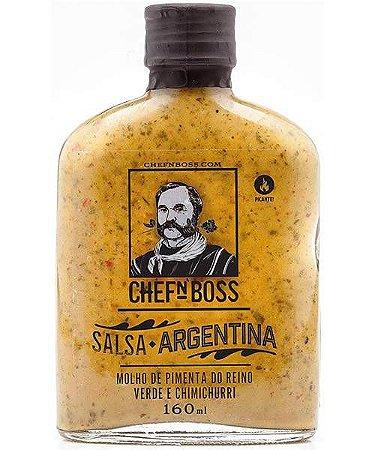 Salsa Argentina: Pimenta Verde e Chimichurri (EMBALAGEM VIDRO 160ML)