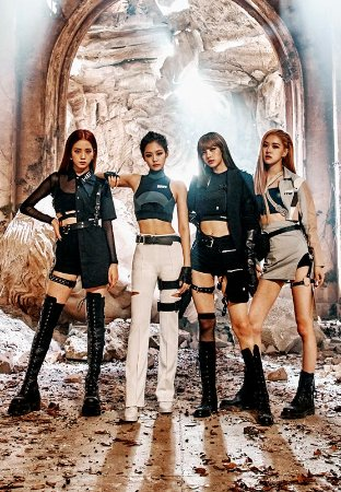Banner Black Pink Kill This Love