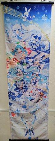Banner Vocaloid Hatsune Miku Winter