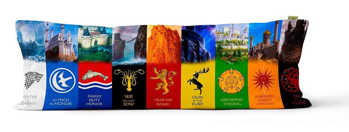 Capa Dakimakura Castelos Game of Thrones