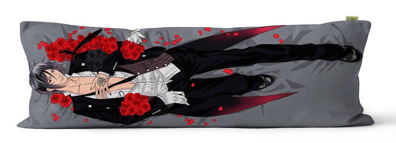 Capa de Dakimakura Sebastian e Ciel Kuroshitsuji