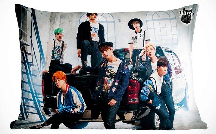 Fronha Travesseiro BTS Run Camionete