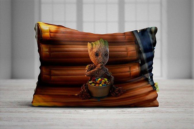 Fronha Travesseiro Guardiões da Galáxia Baby Groot