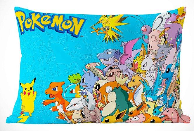 Fronha Travesseiro Pokemon Go Pokemons Azul