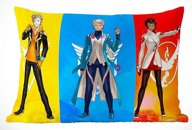 Fronha Travesseiro Pokemon Go Team Leaders