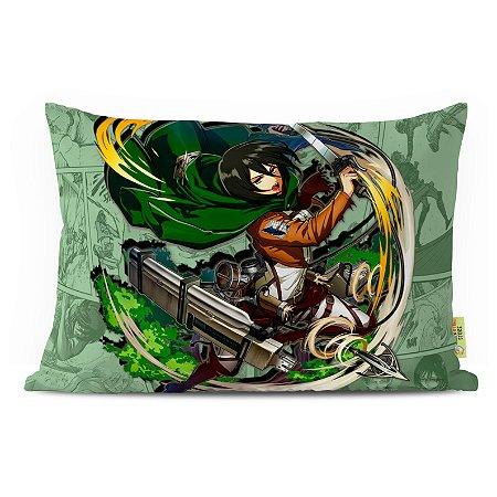 Fronha Travesseiro Shingeki no Kyojin Mikasa Ackermann