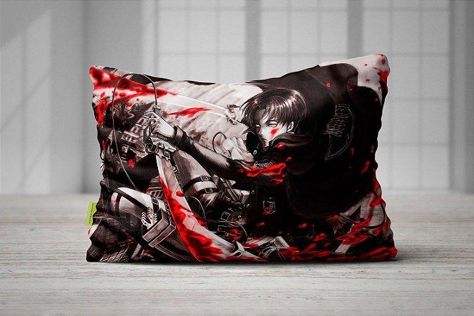 Fronha Travesseiro Shingeki no Kyojin Levi Ackermann