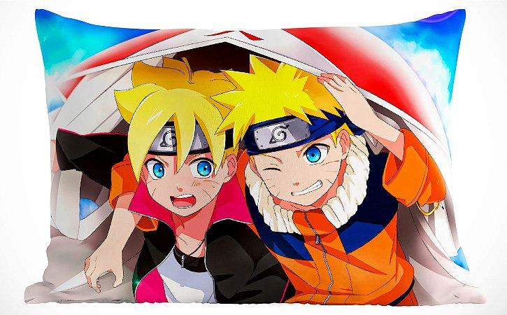 Fronha Travesseiro Naruto e Boruto