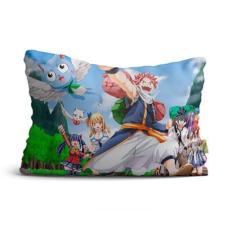 Fronha Travesseiro Fairy Tail Personagens