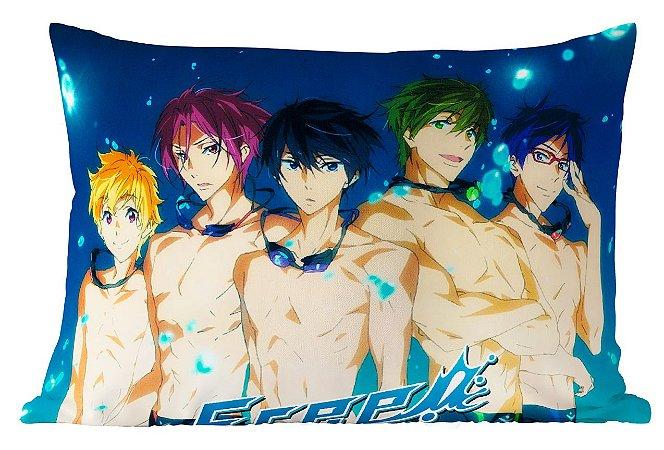 Fronha Travesseiro Free! Personagens