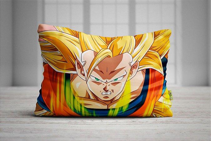 Fronha Travesseiro Dragon Ball - Goku SSJ3