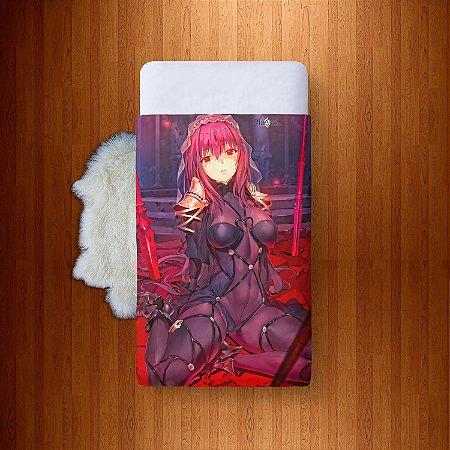 Lençol Solteiro e fronha Fate Series Fate Grand Order - Lancer