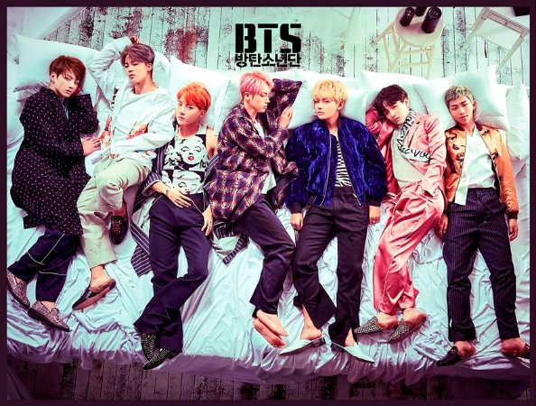 Cortina Kpop BTS Wings