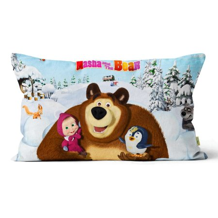 Almofada Masha e o Urso