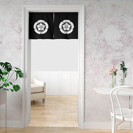 Noren cortina de porta Kamon Gourinikarabana