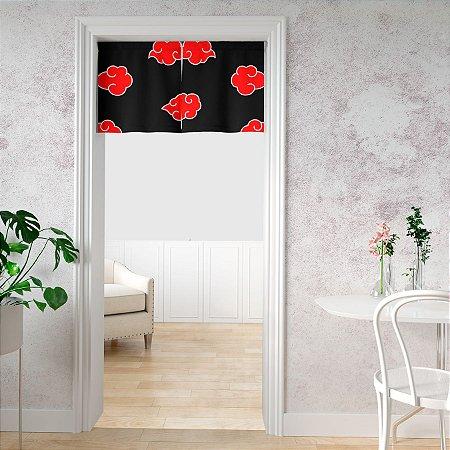 Noren cortina de porta Naruto AkatsukiI