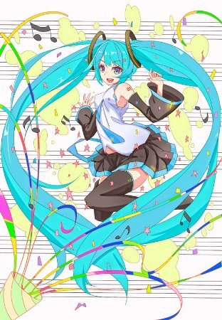 Banner Hatsune Miku Vocaloide
