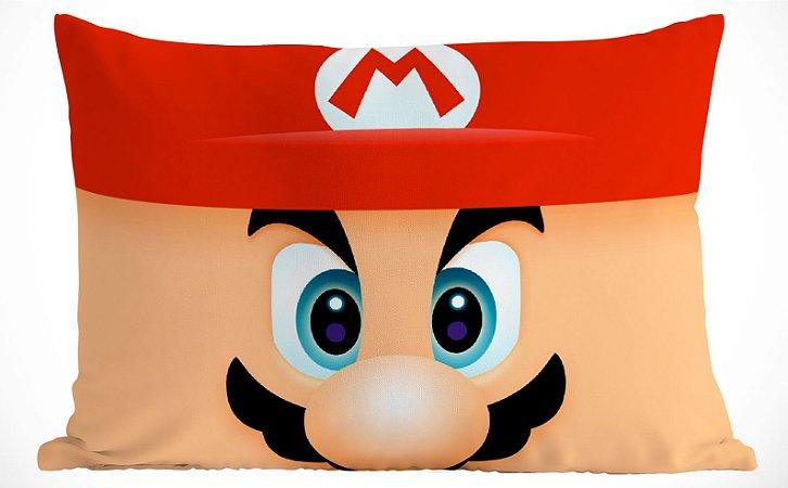 Fronha Travesseiro Super Mario Bros Mario e Luigi