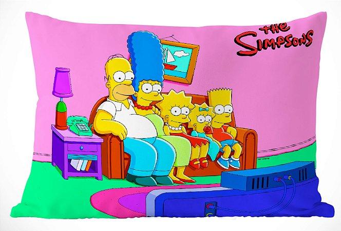 Fronha Travesseiro Simpsons