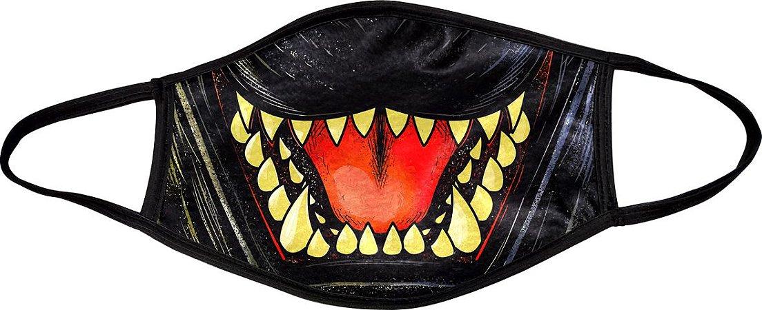 Máscara de Boca Godzilla - Cheshire Cat - Alien - Jason - Jigsaw Billy