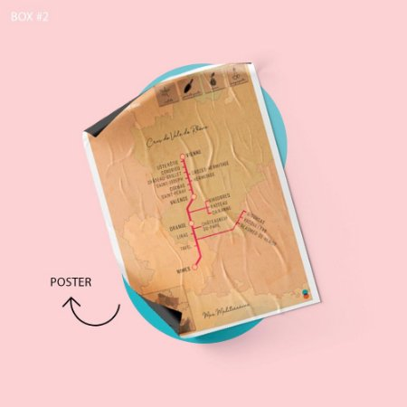 Mapa Crus Rhône #2 Syrah