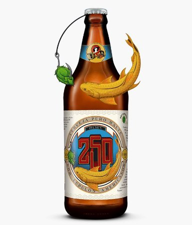 Cerveja Dama Bier 250 Pilsen