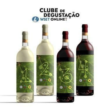 Kit Clube de Degustação WSET Maio
