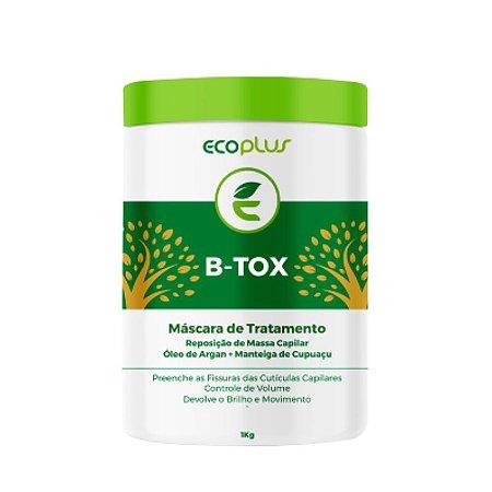 Btox Capilar Argan Tratamento Ecoplus 1KG